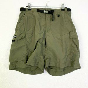 REI Mens Cargo Hiking Olive Green Shorts Size 10